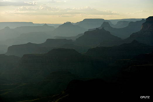Lipan Point Sunset by Carrie Putz