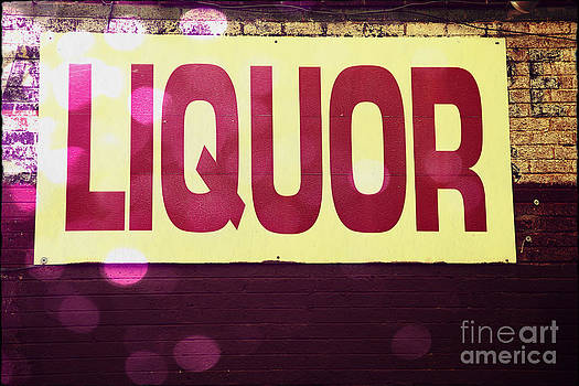 Sophie Vigneault - Liquor Sign