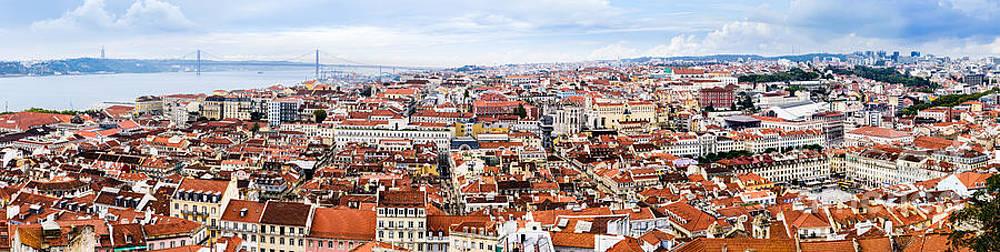 Oscar Gutierrez - Lisbon Panoramic Skyline