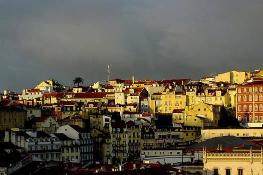 Lisbon Skyline by Phil Darby