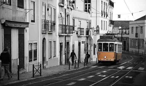 Lisbon Vintage Trolley by Calvin Hanson