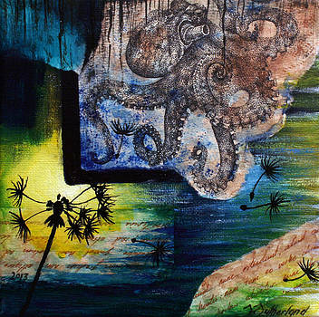 Literary Octopus by Sarah Sutherland