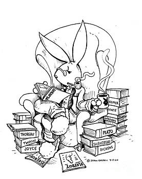 Literary Playboy by John Ashton Golden