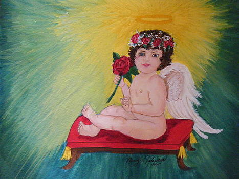 Little Angel  2 by Nancy L Jolicoeur