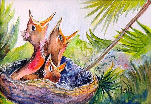 Little beaks by Patricia Piffath