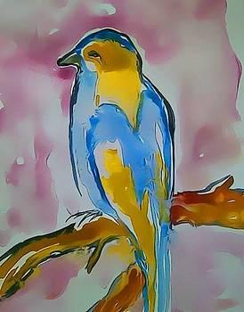 Little Bird by Farfallina Art -Gabriela Dinca-