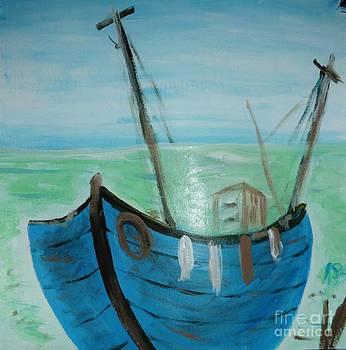 Little Blue Boat by Marie Bulger
