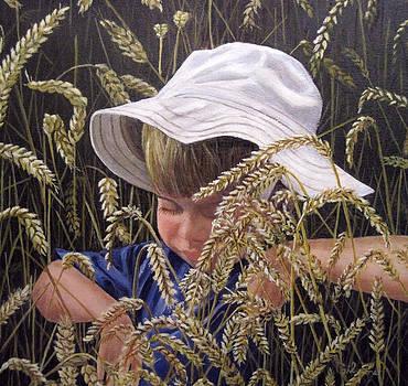 Little Boy Blue by Roseann Gilmore