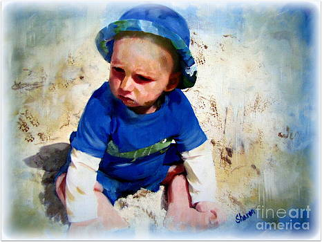 Little boy blue by Sharon Burger