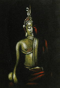 Little Buddha by Diane Bombshelter