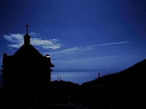 Rick Todaro - Little Church  Silhouette Crimea
