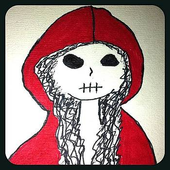 Little Dead Riding Hood #red by Kristine Knowlton