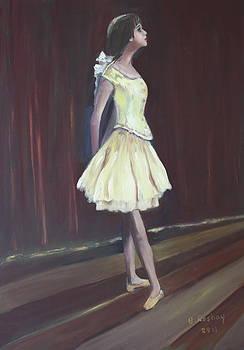 Little Degas Dancer by Brigitte Roshay