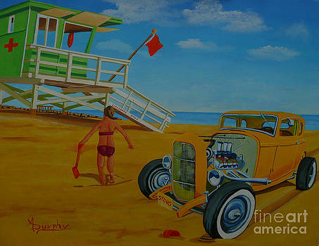 Little Deuce on the Beach by Anthony Dunphy