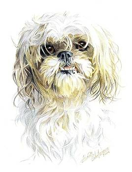 Little Dog. Commission. by Alena Nikifarava