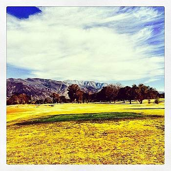 Little Dry At #soulepark #golf #ojai by Tristan Thames