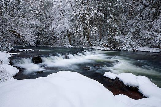 Little Fall Creek Winter by Andrew Kumler
