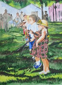 Little Fiddler by Freda Nichols