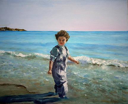 Little fisherman by Olga Yug