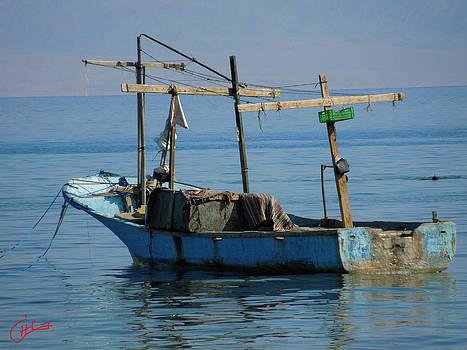 Colette V Hera  Guggenheim  - Little Fishingboat Nuweiba Beach Sinai Egypt