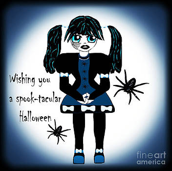 Little Goth Girl Spook-tacular by Eva Thomas