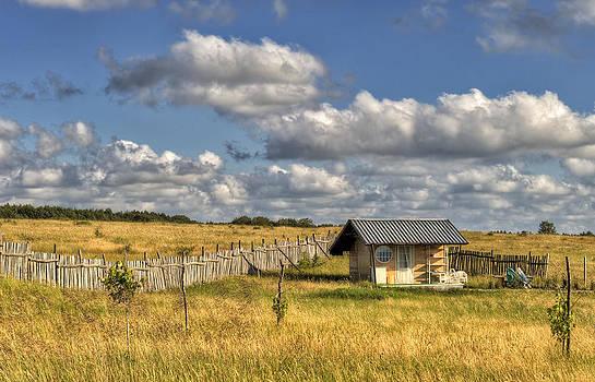 Little house in the prairie by Dimitar Rusev