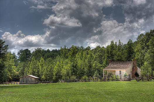 Little House on the Prairie  by Gerald Adams