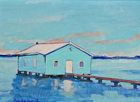 Little House on the Water II by Debbie Beukema