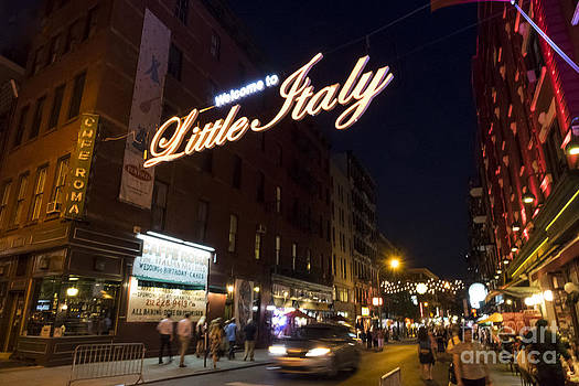 Little Italy Sign by Ed Rooney