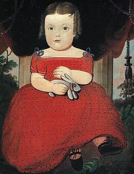Little Miss Fairfield circa 1830 by William Mathew Prior