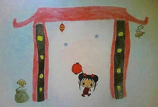 Little Miss Sunshine II by Karen Jensen