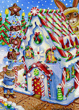 Little Mouse's Gingerbread House by Jacquelin Vanderwood