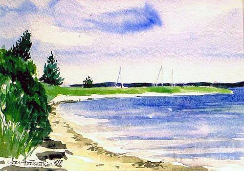 Watch Hill Cove by Joan Hartenstein