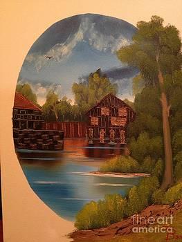 Little Quaint Fishing Village by Tim Blankenship