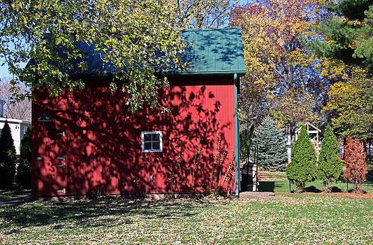 Little Red Barn by Carolyn Ricks