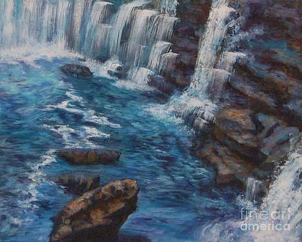 Little River Falls by Jana Baker