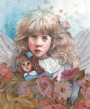 Little rose angel by Judith Cheng