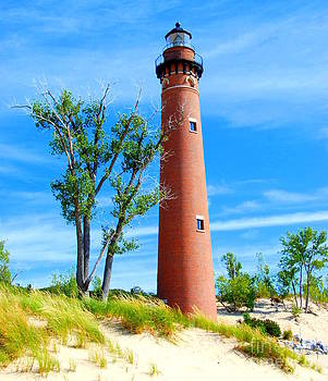 Little Sable Point Light by Christy Phillips