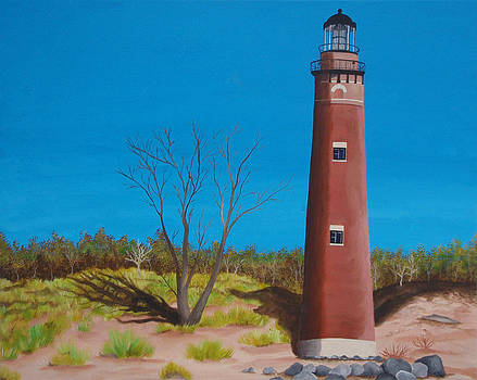 Little Sable Point Lighthouse by Brandy Gerber