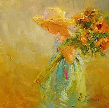 Little Sunflowers by Diane Leonard