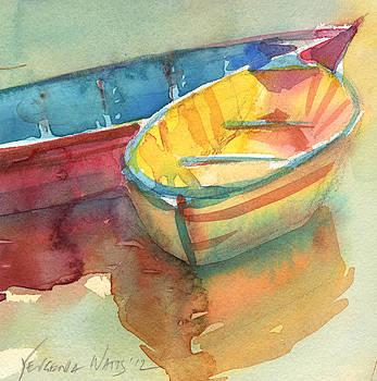 Little Yellow Boat by Yevgenia Watts