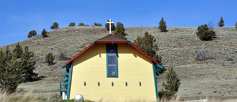 Little Yellow Church by Heather L Wright