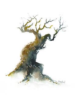 Little Zen Tree 1582 by Sean Seal