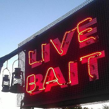 Live Bait #golf #minigolf #sunset #neon by Haley BCU