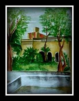 Live landscape by Hihani Gautam
