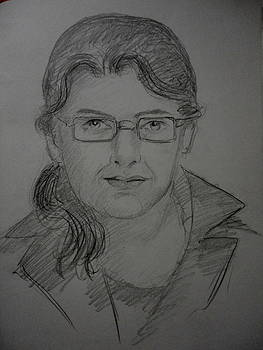 Live portrait by Hihani Gautam