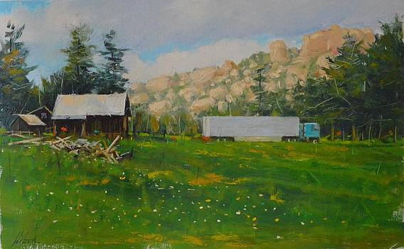 Livin in the sticks by Greg Clibon