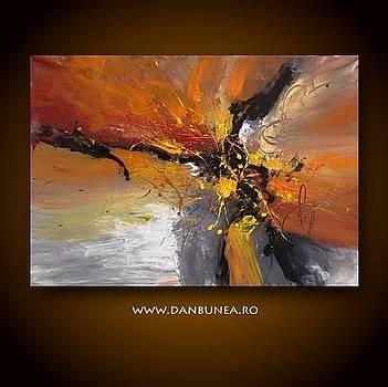 Living abstract paintings by Dan Bunea by Dan Bunea