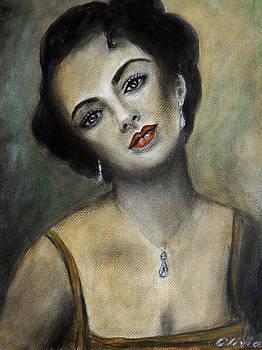 Liz Taylor by Olivia Gray