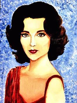 Liz Taylor by Victoria Rhodehouse